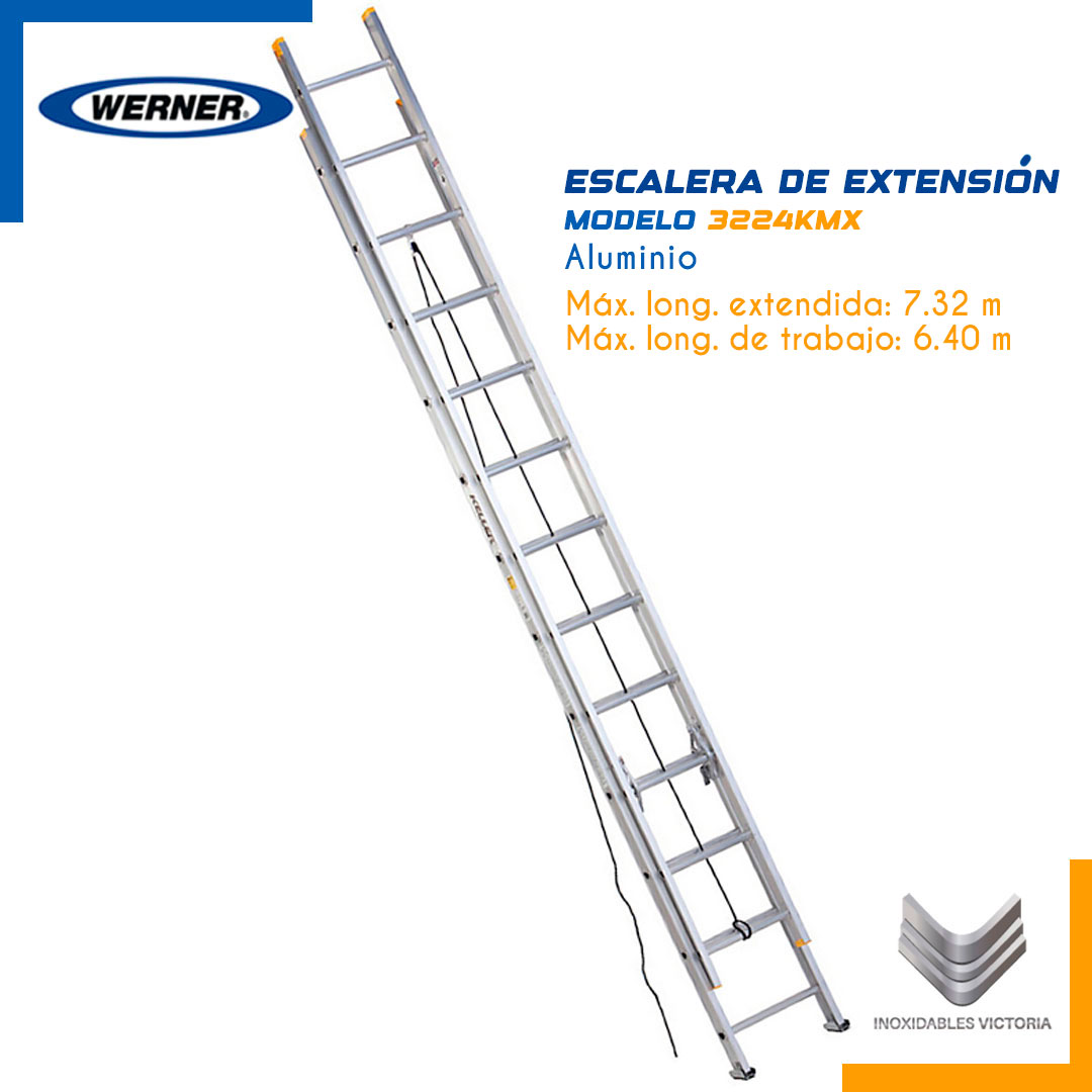 Escalera de Extensión de Aluminio
