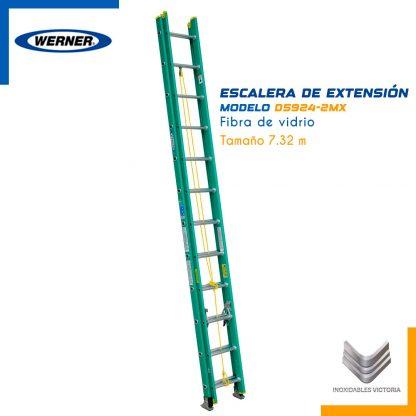 Escalera de Extension de Fibra de Vidrio