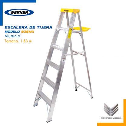 Venta de Escalera Werner de Tijera de Aluminio