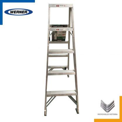 Escalera de aluminio, Werner T925MX; Inoxidables Victoria