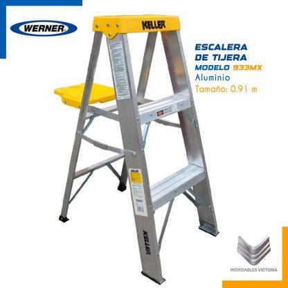 escalera-werner-modelos-933MX-aluminio-InoxidablesVictoria