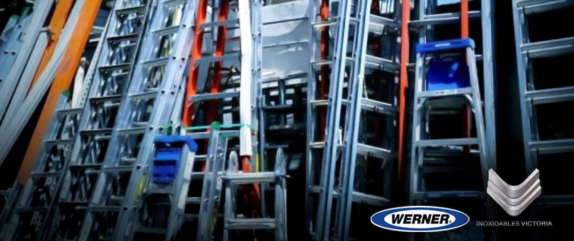 venta de escaleras de aluminio marca werner