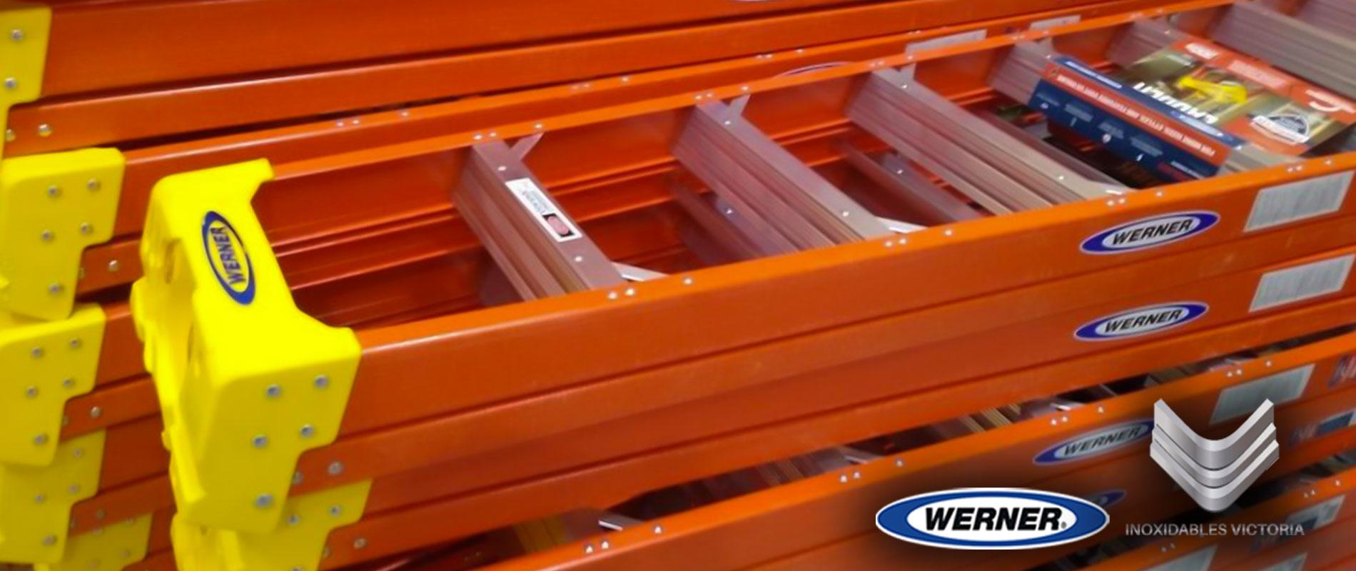 venta de escaleras de fibra de vidrio marca werner