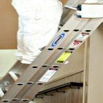 Escaleras de aluminio para la casa
