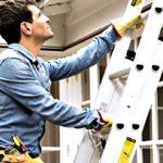 Cómo usar una escalera de aluminio
