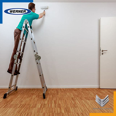 escaleras de aluminio plegables